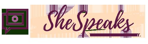 SheSpeaks.ca LOGO